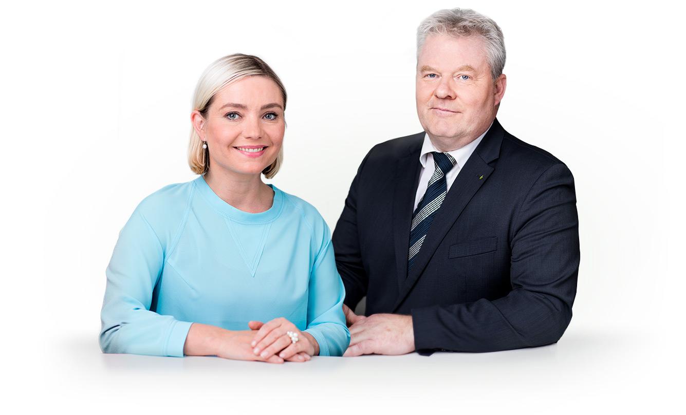 Lilja Alfreðsdóttir og Sigurður Ingi Jóhannsson